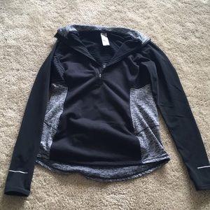 Women's Champion Quarter-zip Fleece Pullover